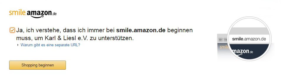 Karl & Liesl Amazon Smile